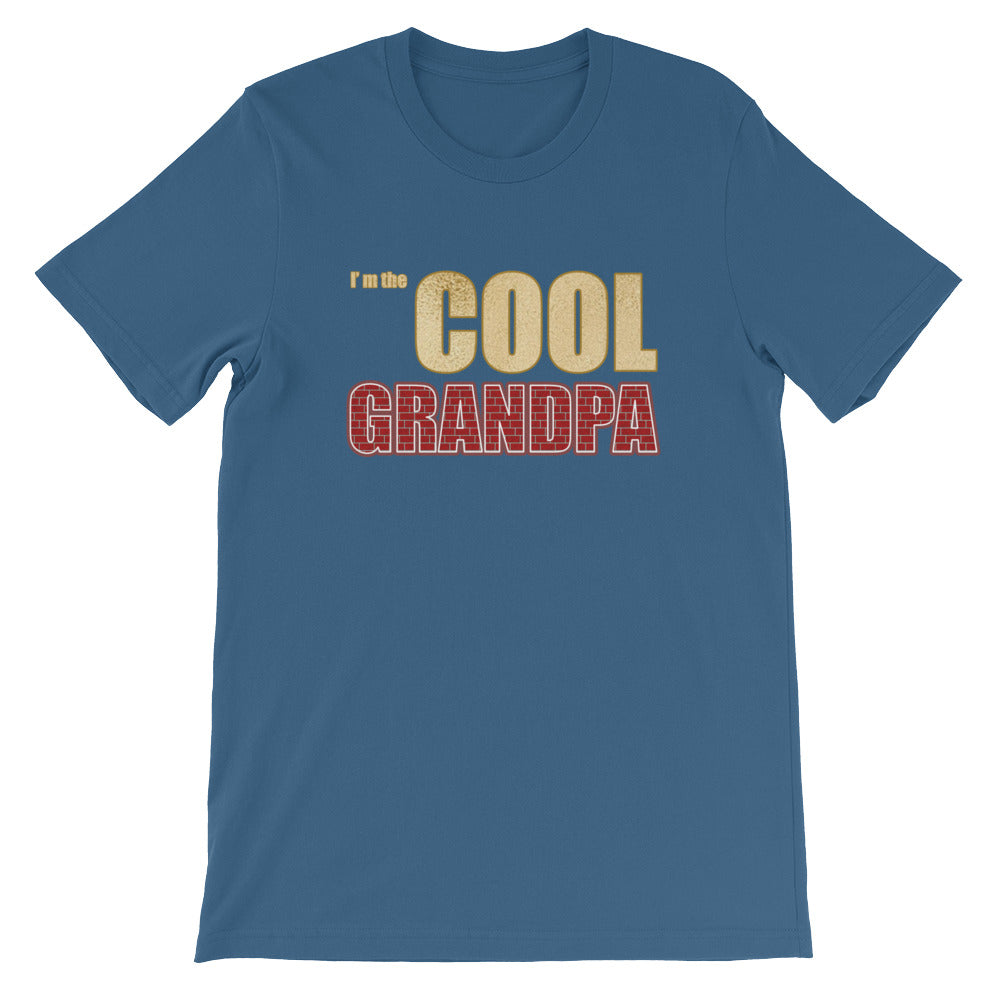 Funny I'm the Cool Grandpa T Shirt - Perfect Grandparent Gifts