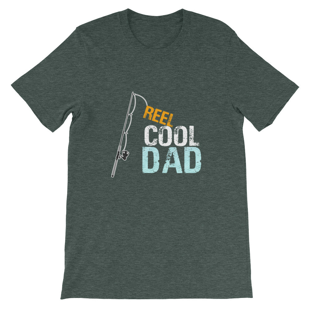 Reel Cool Dad Funny Fishing Shirt for Men - Great for Fishermen Gifts or Dad Gifts