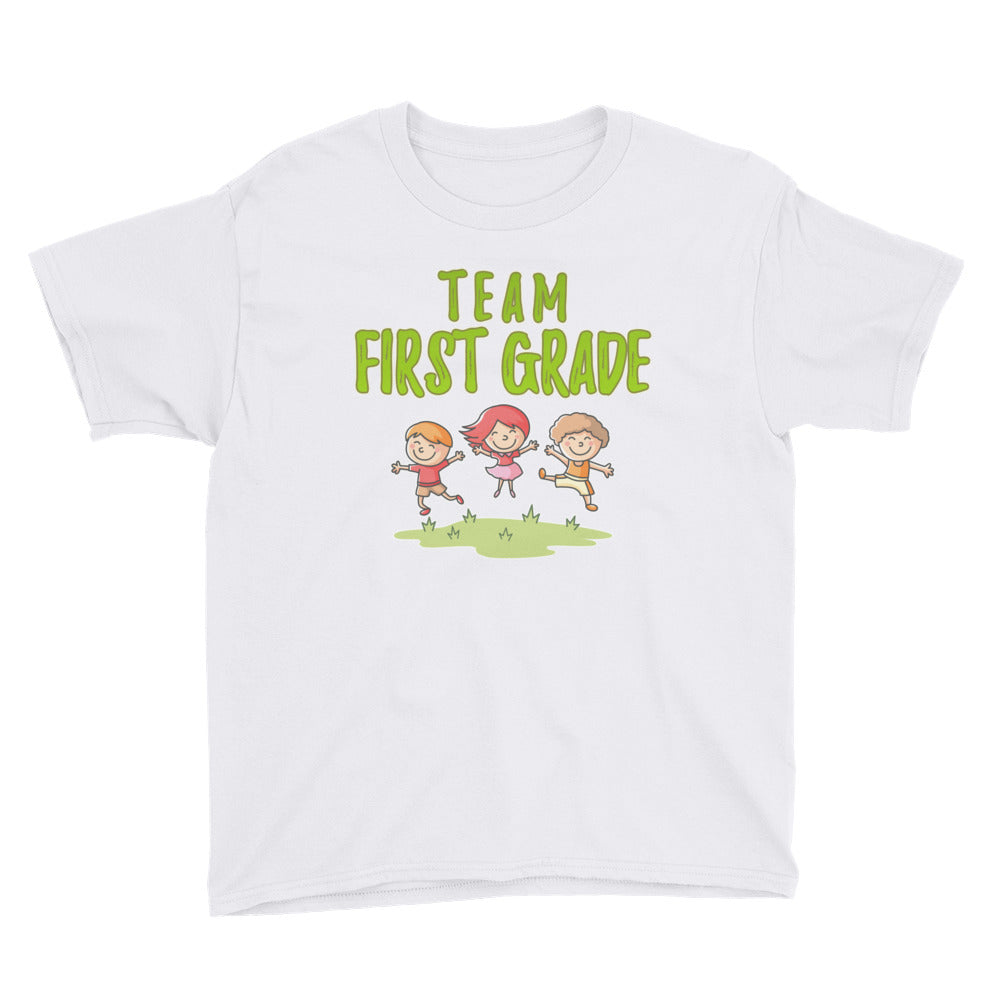Team First grade Shirt for First Grade Kids - Great for First Day of School Back to School Tshirt