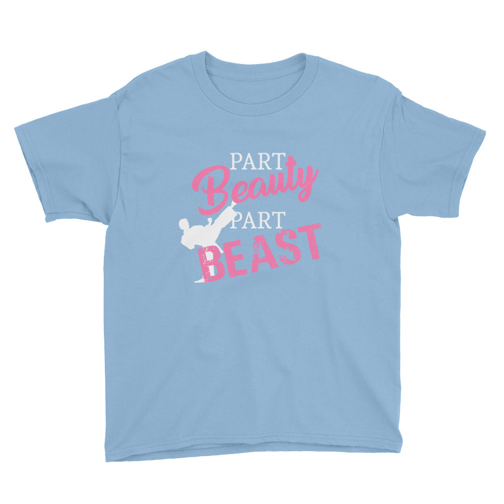 Part Beauty Part Beast Martial Arts Tshirt for Girls