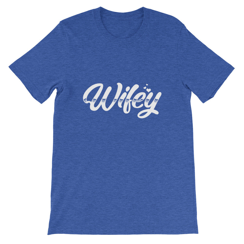 Wifey Couples Shirt Funny Hubby Wifey Matching Couples Shirt