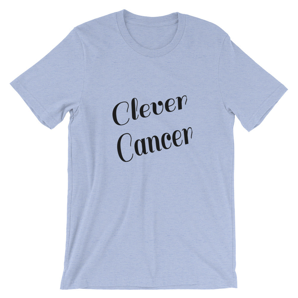 Clever Cancer Zodiac Sign Astrology Horoscope Graphic Tee Tshirt