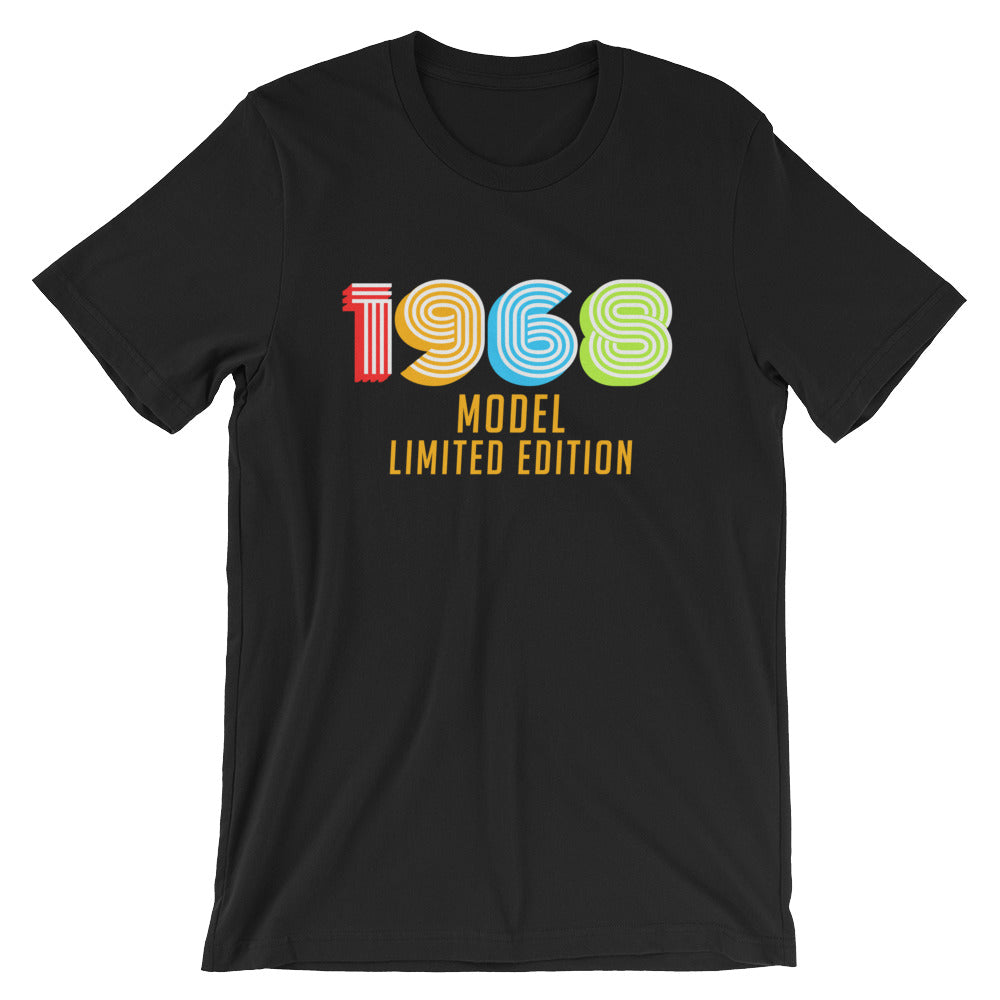 1968 Model Limited Edition Funny 50th Birthday T Shirt Gift Ideas For 50 Year Old