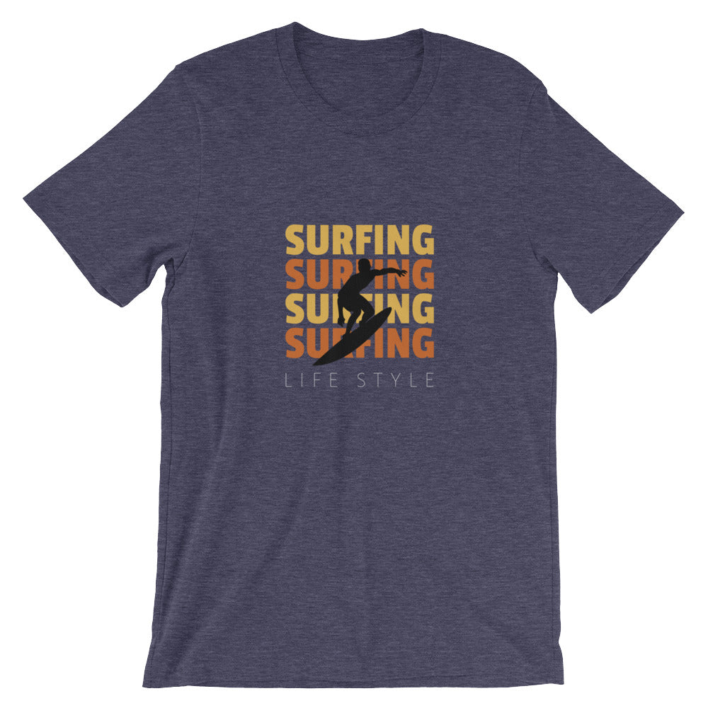 Cool Surfing Lifestyle Womens or Mens Surf Shirt Great for Surfer Beach Gifts