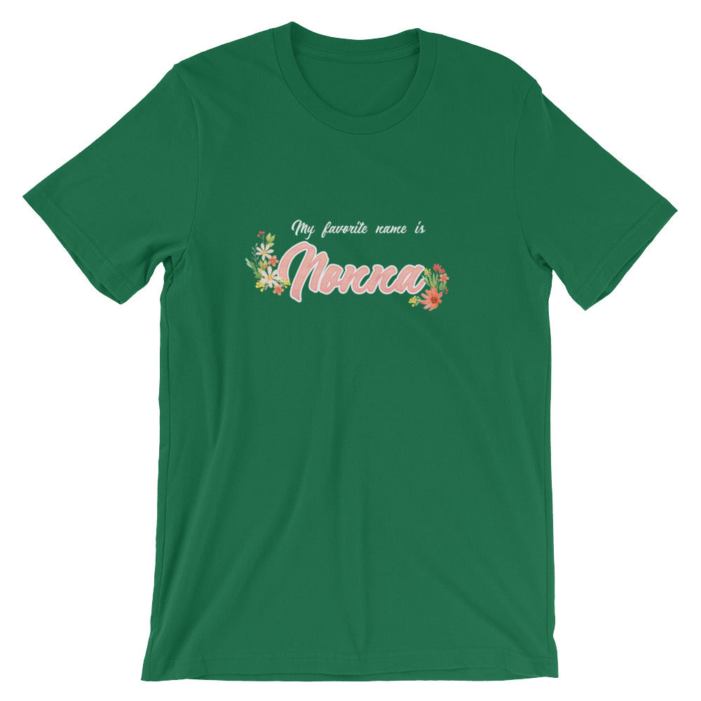 My Favorite Name is Nonna Shirt Cute Grandmother Grandma Gifts from Grandkids