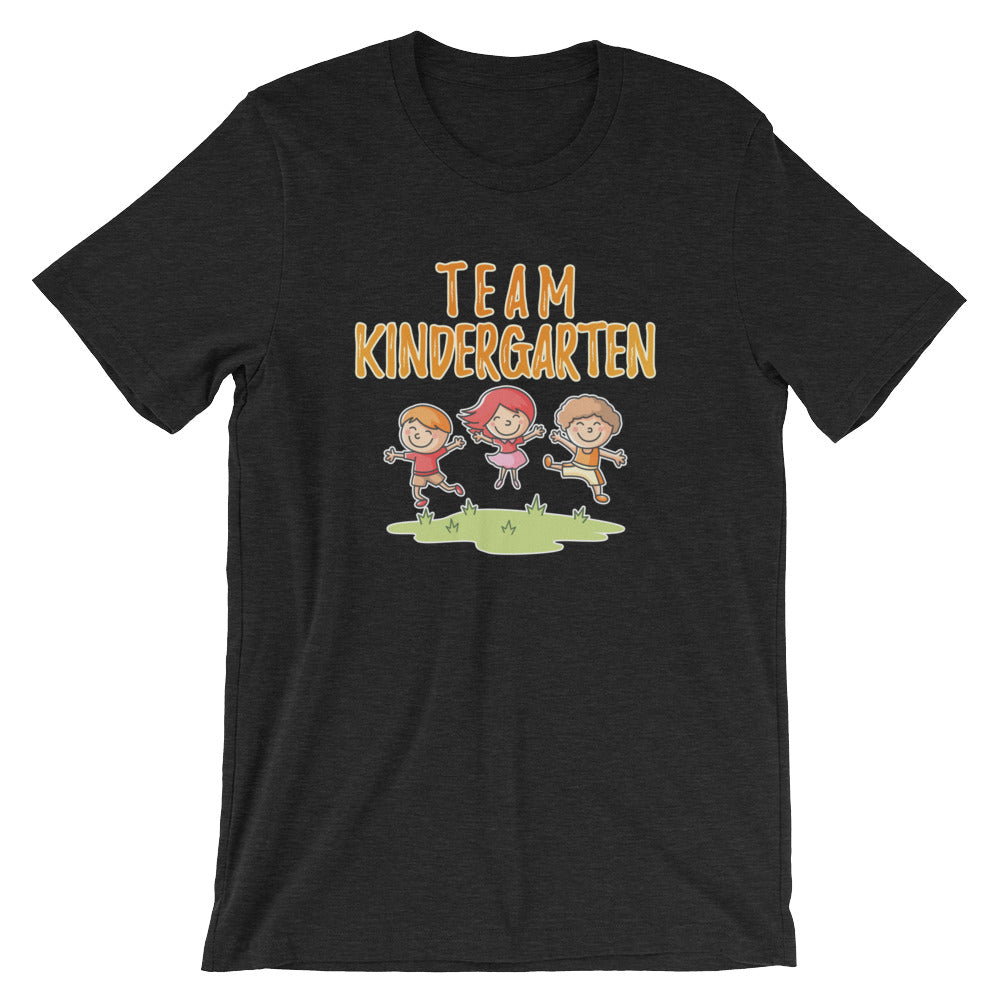 Team Kindergarten Tshirt for Kindergarten Kids Teachers Parents Great for Kindergarten Teacher Gifts