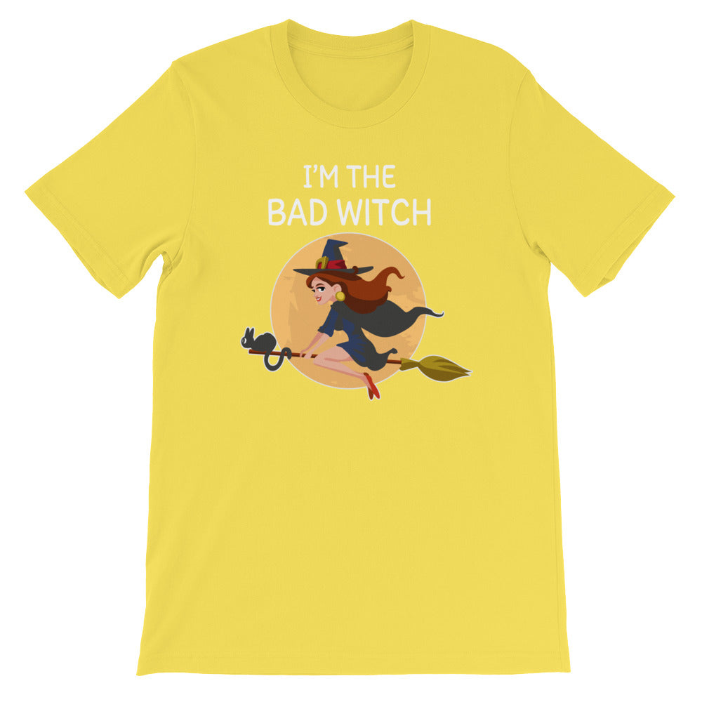 I'm the Bad Witch Tshirt - Great for Wiccans and Halloween