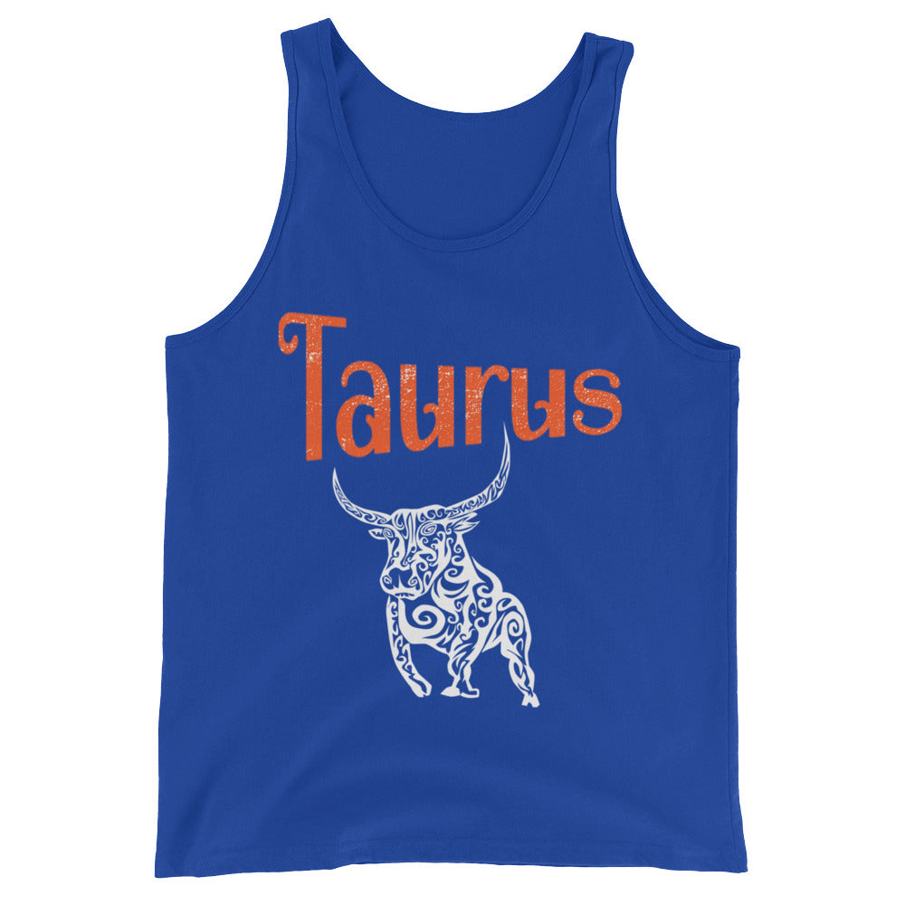 Zodiac Taurus Astrology Sign Horoscope Tank Top Taurus Zodiac Gifts for April or May Birthday