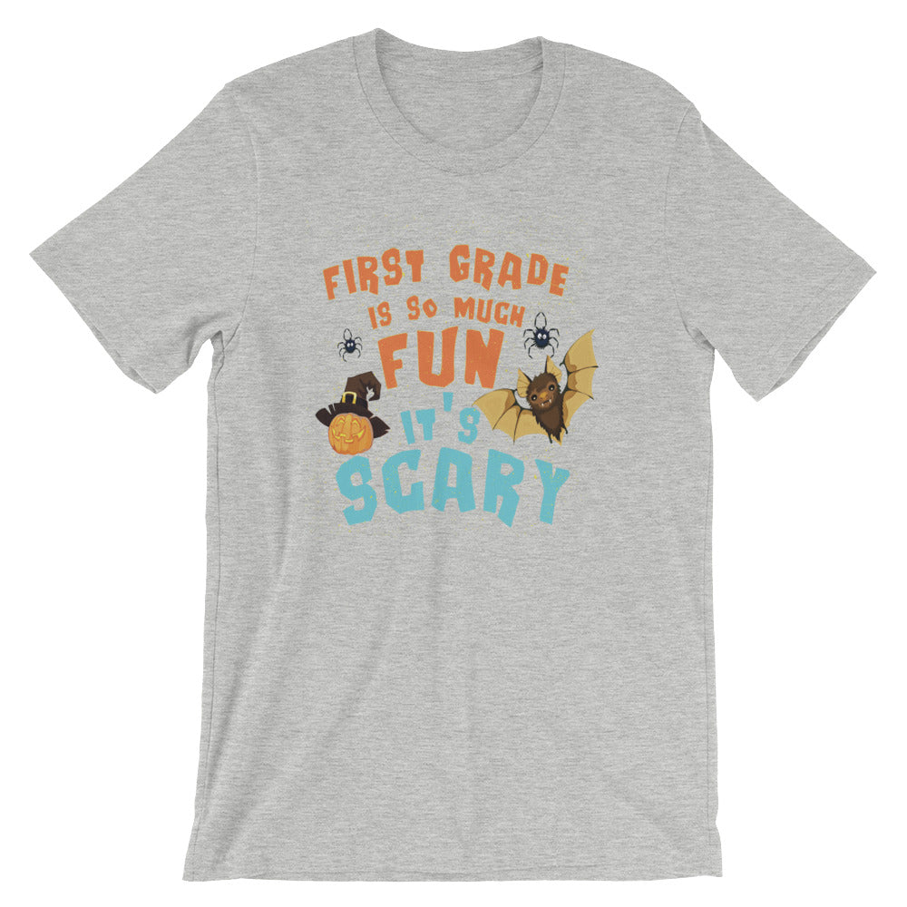 First Grade Is So Much Fun Its Scary First Grade Kids First Grade Teachers Halloween Shirt Great for Back to School or Teacher Gifts