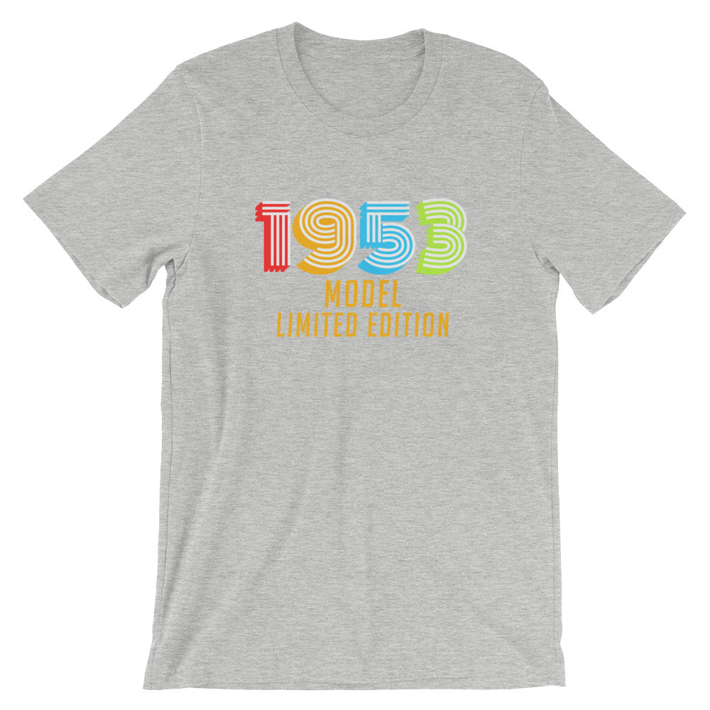 1953 Model Limited Edition Funny 65th Birthday T-Shirt Gift Ideas for 65 year old Birthdays Men or Women