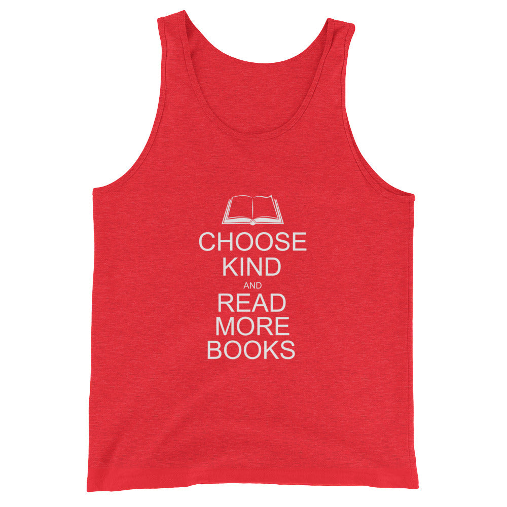 Choose Kind and Read More Books Anti Bullying Tank Top