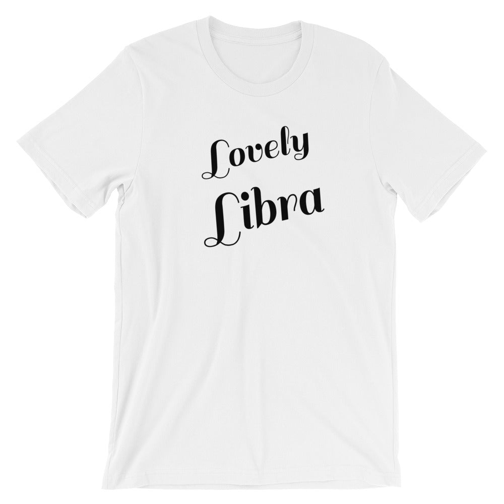 Lovely Libra Zodiac Sign Astrology Horoscope Graphic Tee Tshirt