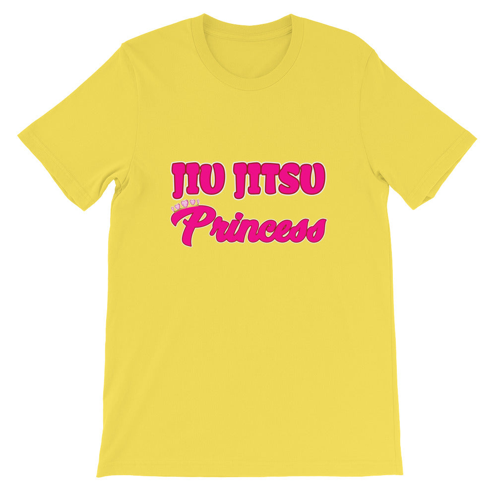 Jiu Jitsu Princess Martial Arts Shirt for Girls and Women