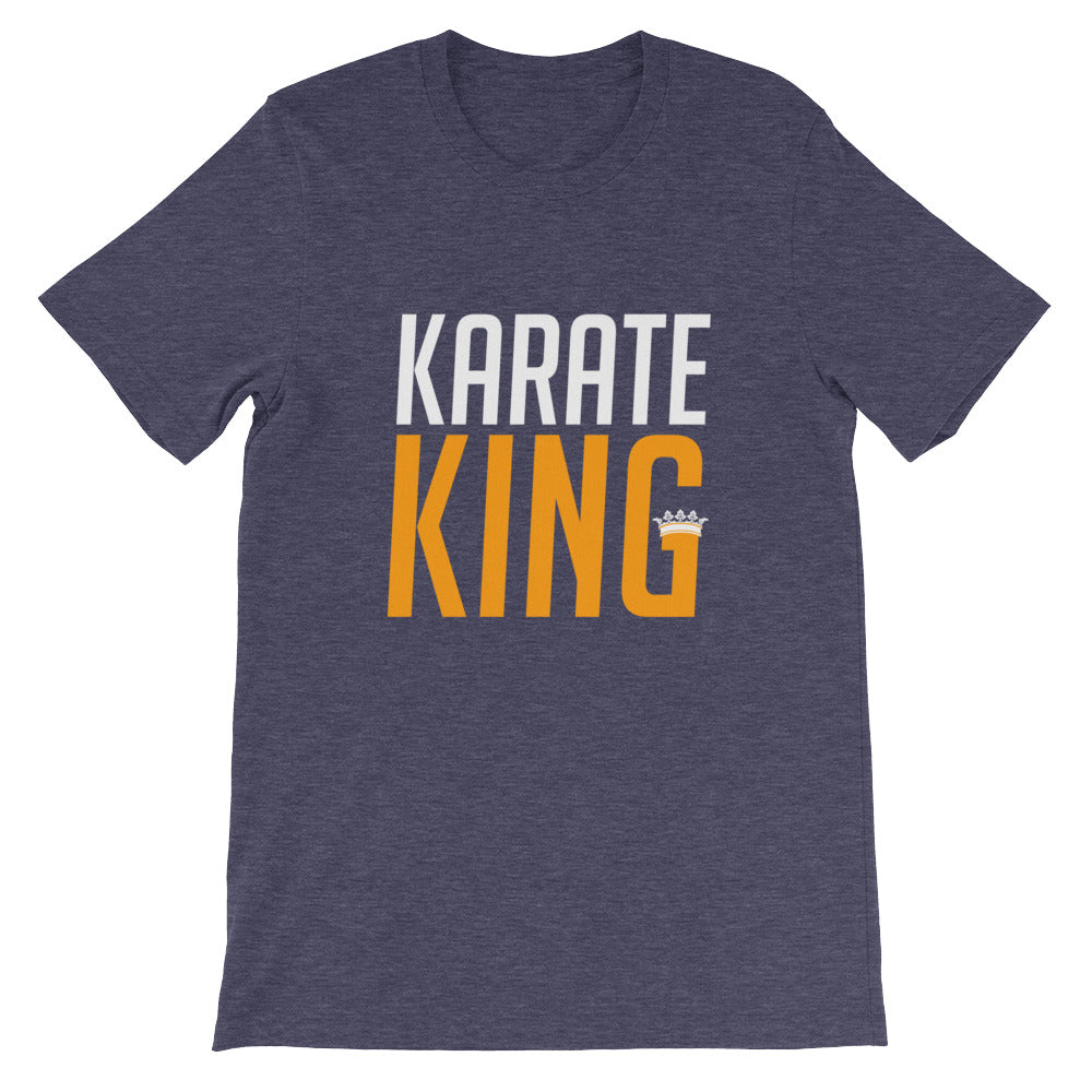 Karate King Funny Martial Arts Shirt for Men and Boys