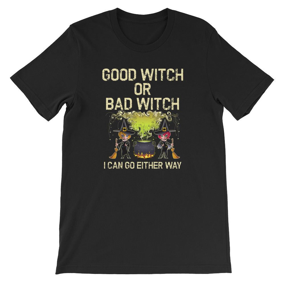 Good Witch Bad Witch Shirt -Great for Wiccans & Halloween