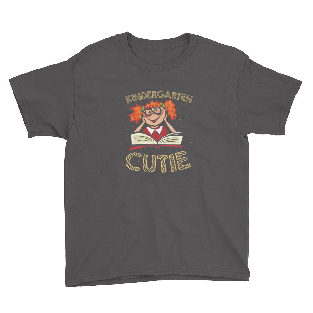 Kindergarten Cutie Shirt for Kindergarten Girls Kids Back to School First Day of School