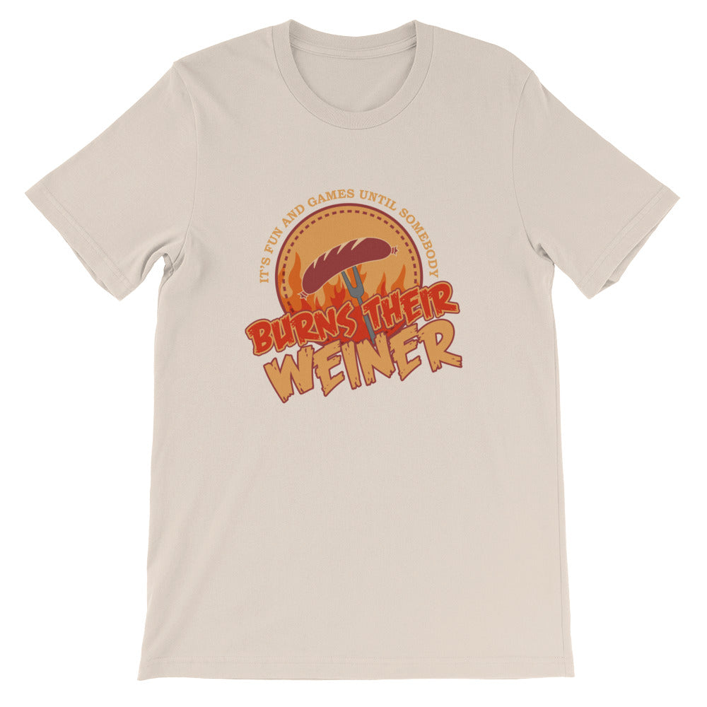 Burns Their Weiner Funny Camping Shirt for Men Women - Good as Campers Gifts