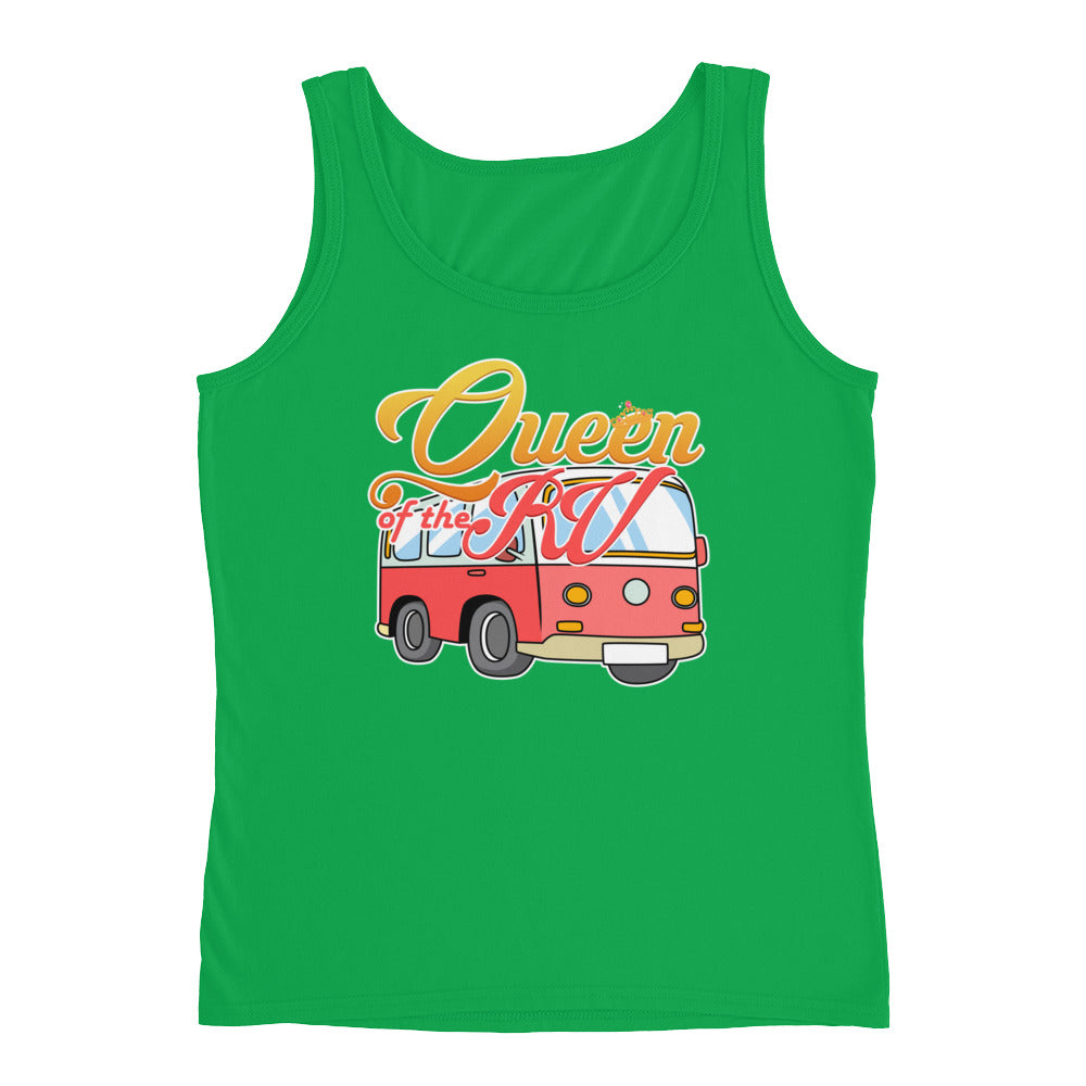 Queen of the RV Funny Camping Tank Top for Women - Great for Camper Gifts