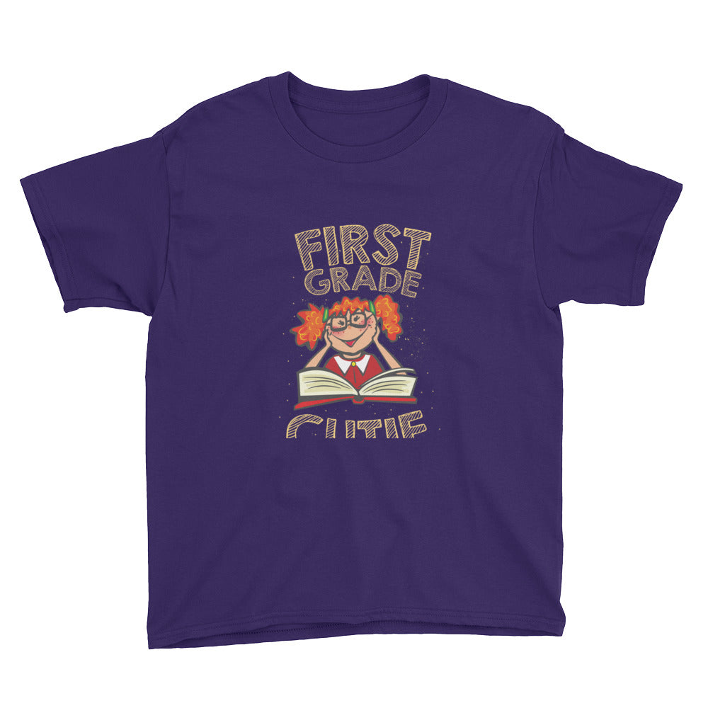 First Grade Cutie Shirt for First Grade Girls Kids Back to School First Day of School