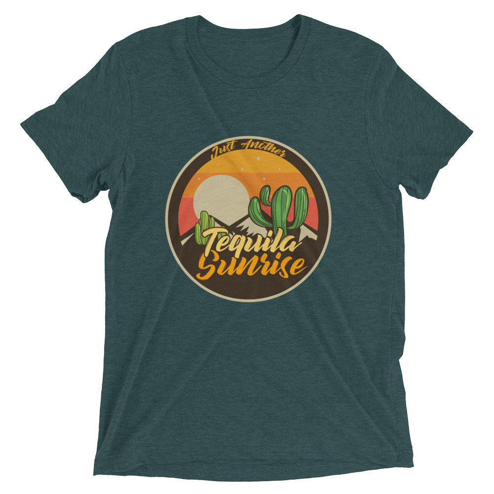 Just Another Tequila Sunrise Graphic Tee Graphic T shirts Unisex Triblend