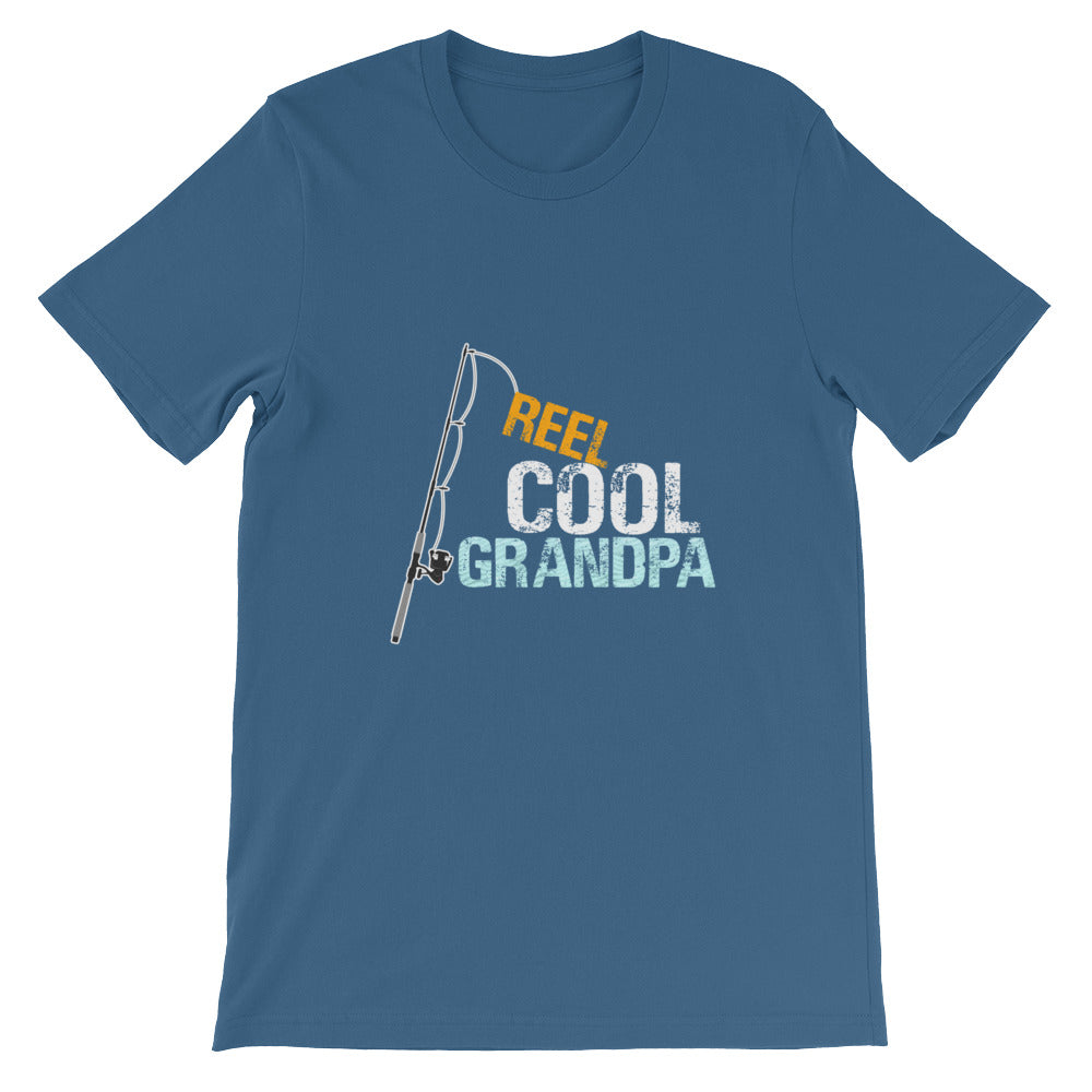 Reel Cool Grandpa Funny Fishing Shirt Men - Great for Fishermen Gifts or Grandparent Gifts