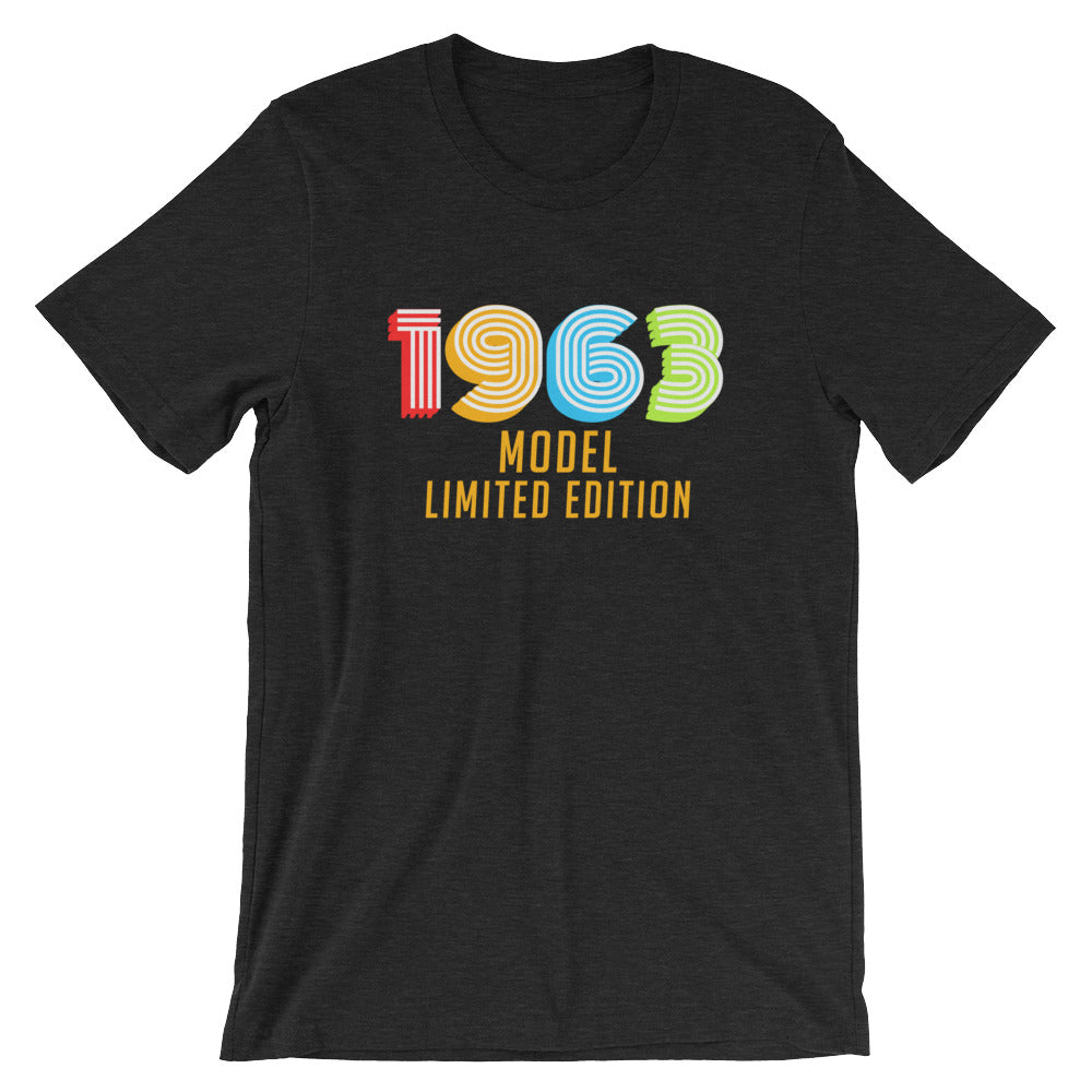 1963 Model Limited Edition Funny 55th Birthday T-Shirt Gift Ideas for 55 year old Birthdays Men or Women