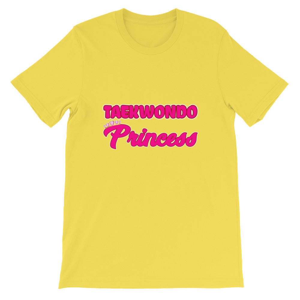 Taekwondo Princess Martial Arts Shirt for Girls and Women