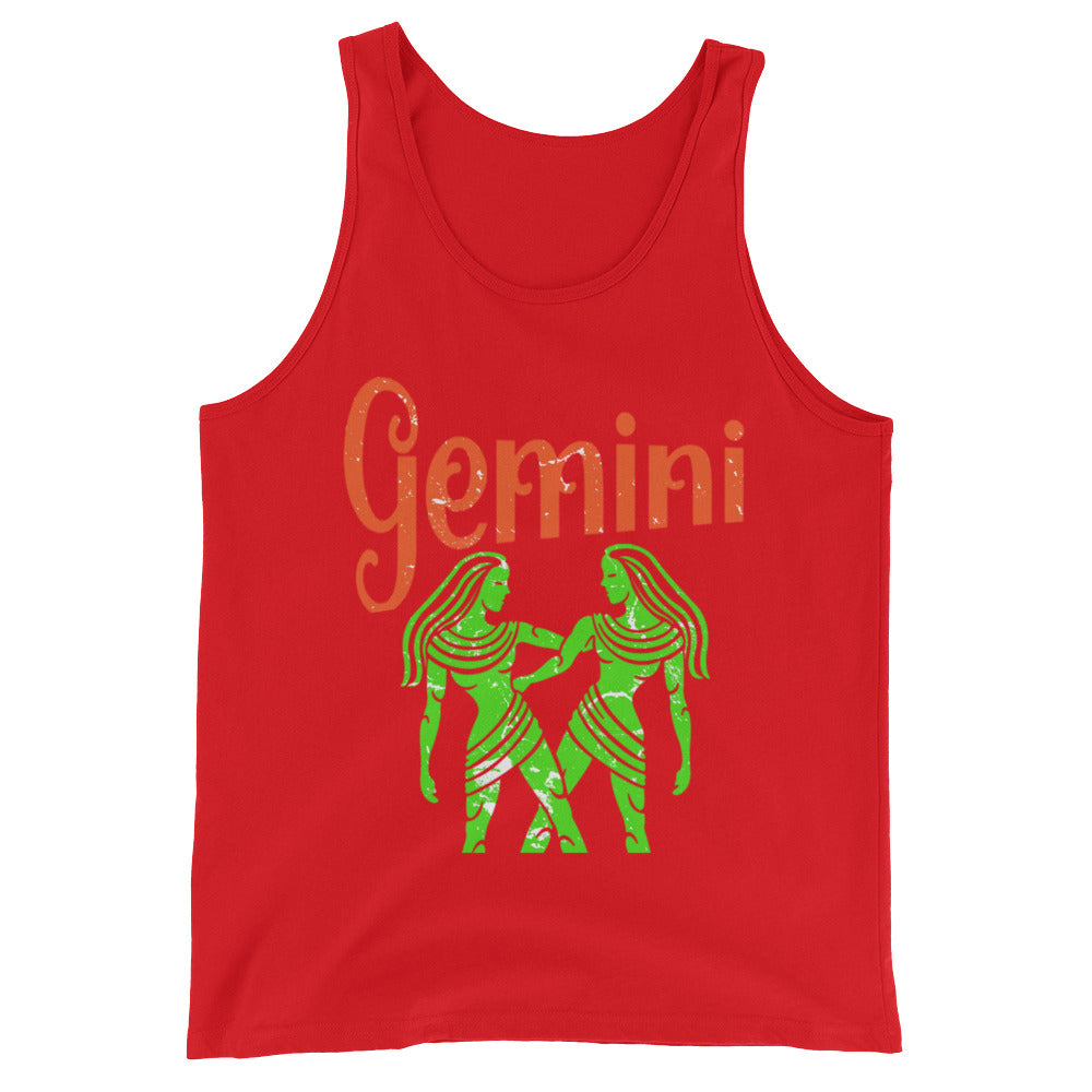 Zodiac Gemini Astrology Sign Horoscope Tank Top Gemini Zodiac Gifts for May or June Birthday