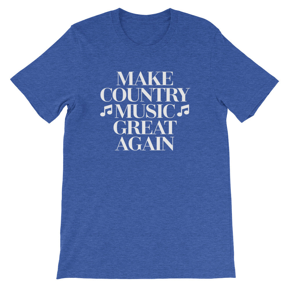 Make Country Music Great Again for Fans of Country Music