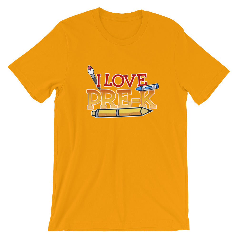 I Love Pre-K Shirt for Pre-K Teachers Pre-K Parents Teacher Gifts