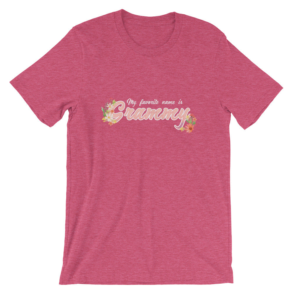 My Favorite Name is Grammy Shirt Cute Grandmother Grandma Gifts from Grandkids