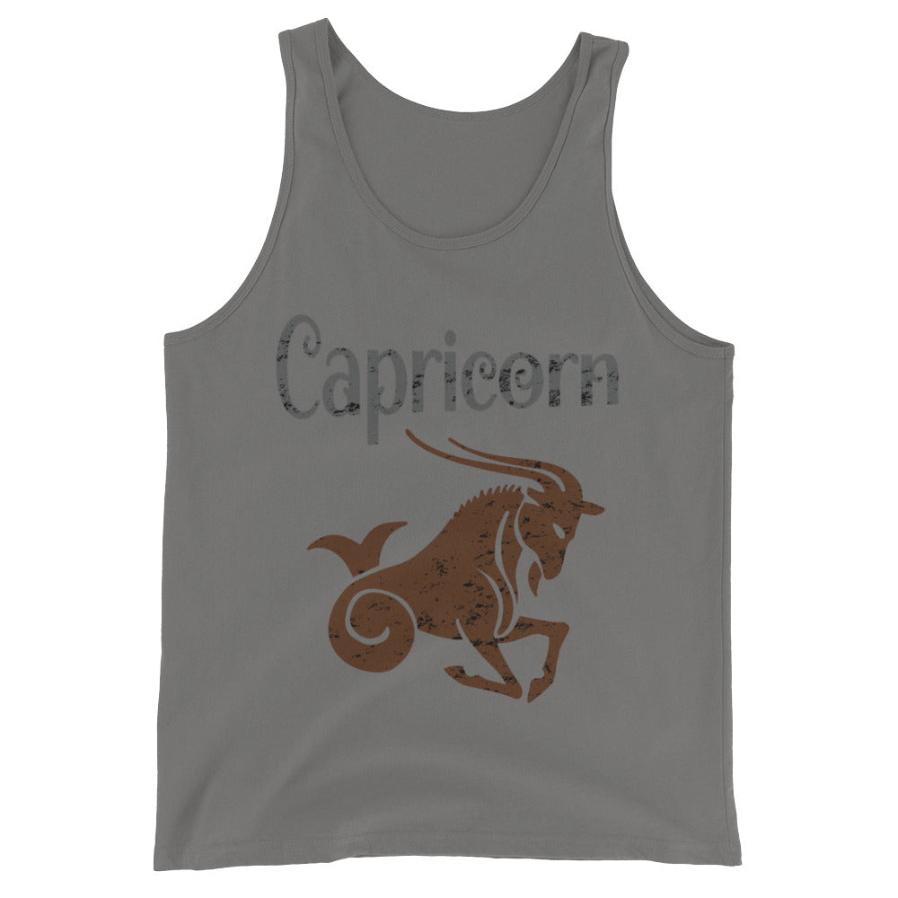 Zodiac Capricorn Astrology Sign Horoscope Tank Top Capricorn Zodiac Gifts for December or January Birthday