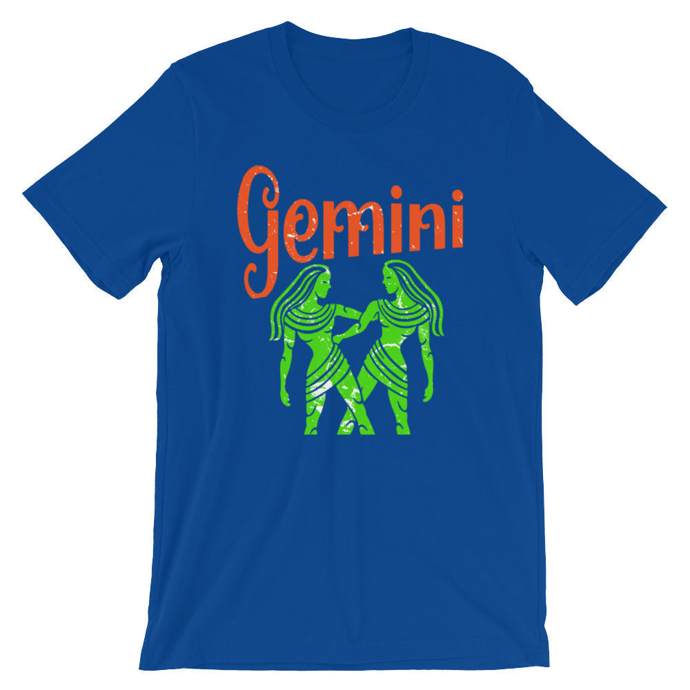 Zodiac Gemini Astrology Sign Horoscope T Shirt Gemini Zodiac Gifts for May or June Birthday