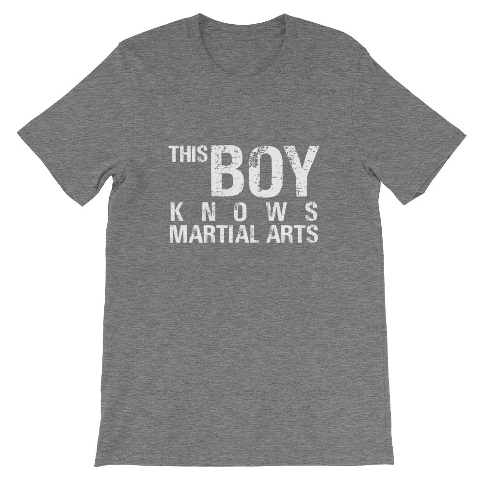 This Boy Knows Martial Arts Funny Martial Arts Shirt for Boys and Men