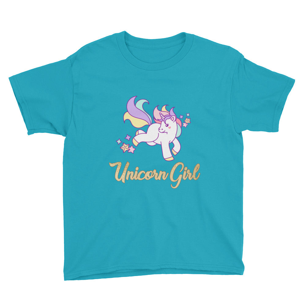 Unicorn Girl Tshirt for Girls - Perfect for Unicorn Lover Gifts