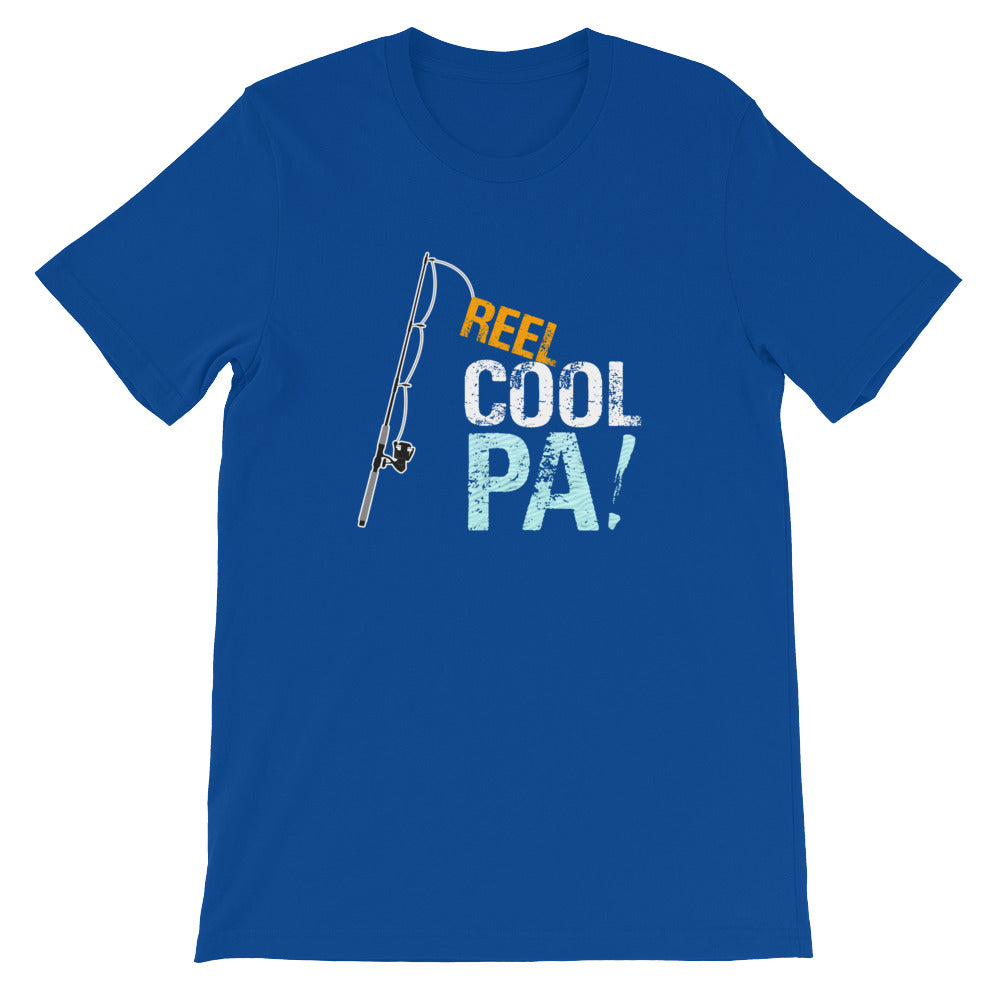Reel Cool Pa Funny Fishing Shirt for Men - Great for Fishermen Gifts Grandparents Gifts Father's Day Gifts Birthday Gift Ideas for Dad