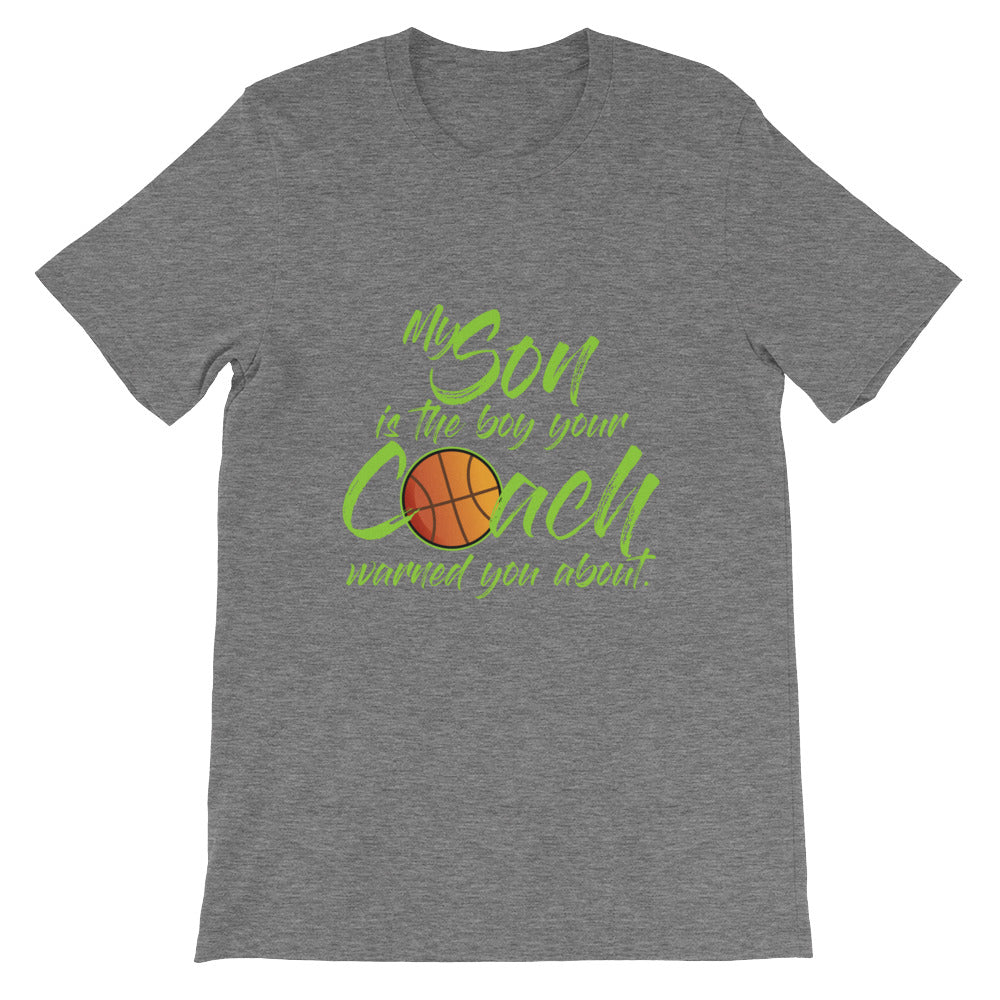 My Daughter is Girl Your Coach Warned You Basketball Mom Shirt / Basketball Dad Shirt