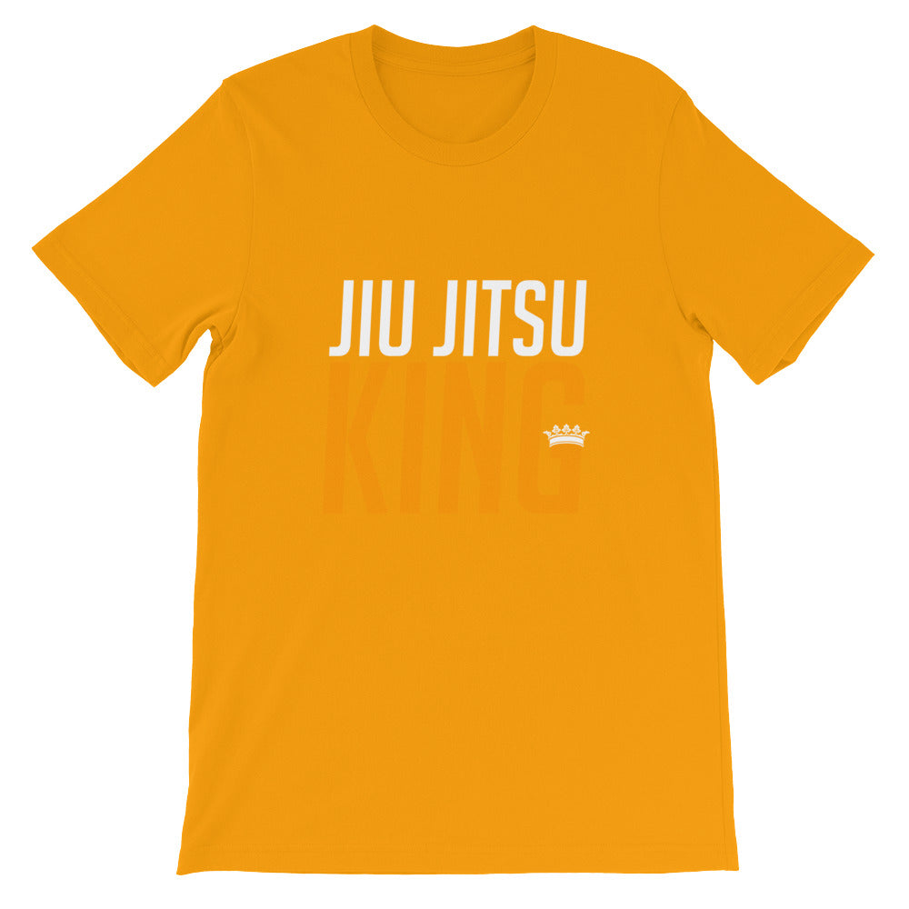 Jiu Jitsu King Funny Martial Arts Shirt for Men and Boys