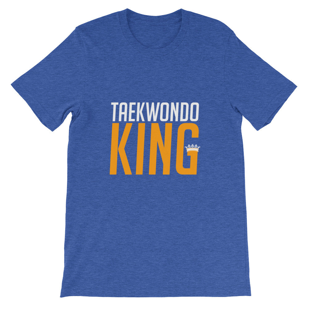 Taekwondo King Funny Martial Arts Shirt for Men and Boys