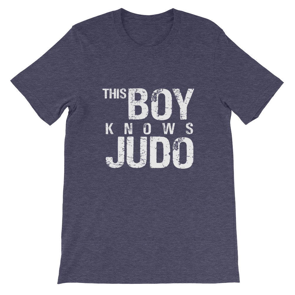 This Boy Knows Judo Funny Martial Arts Shirt for Boys and Men