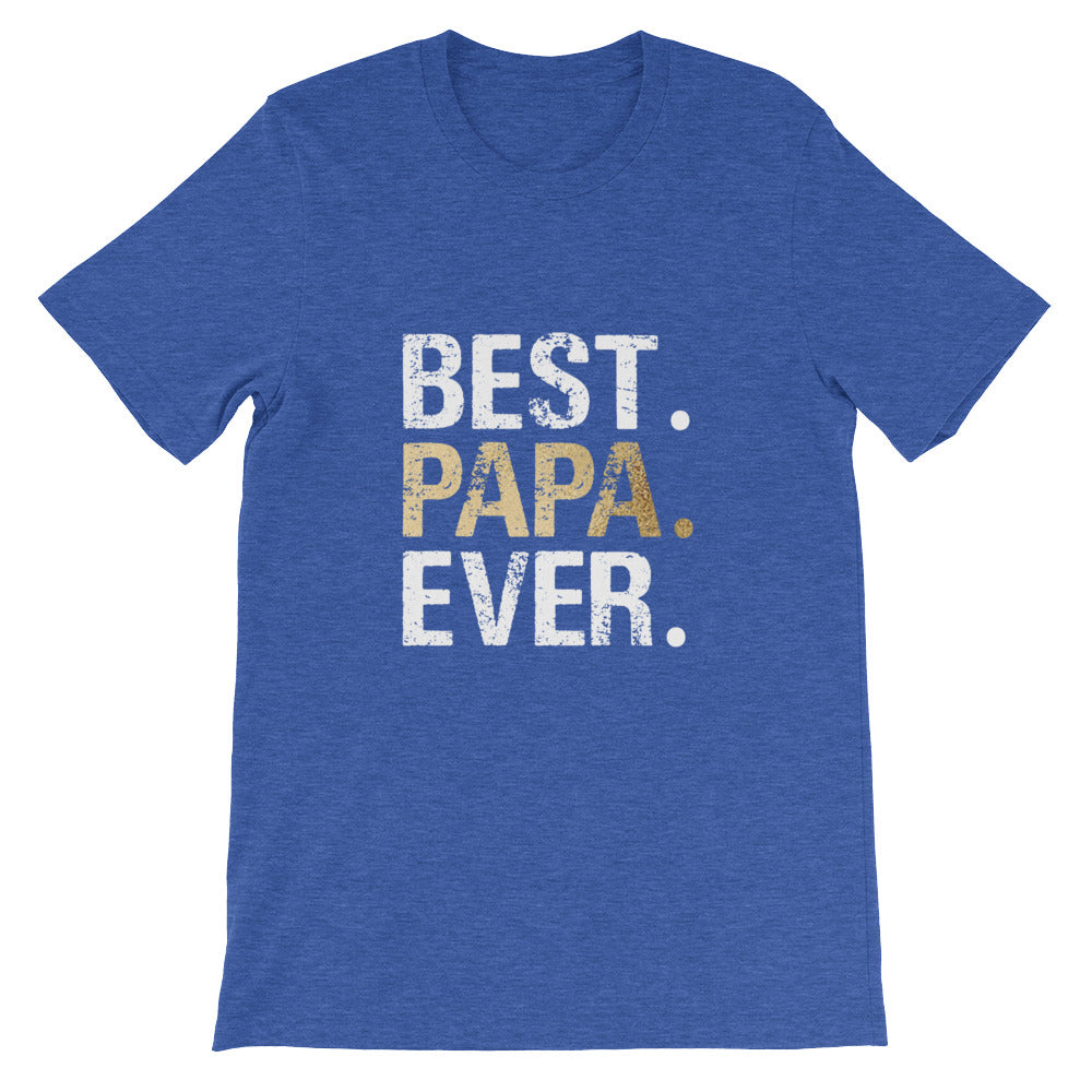 Best Papa Ever Tshirt for Men -  Great for Fathers Day Gifts or Grandparents Gifts