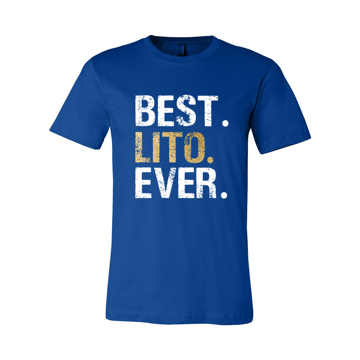 Best Lito Ever Grandpa Grandfather Tshirt