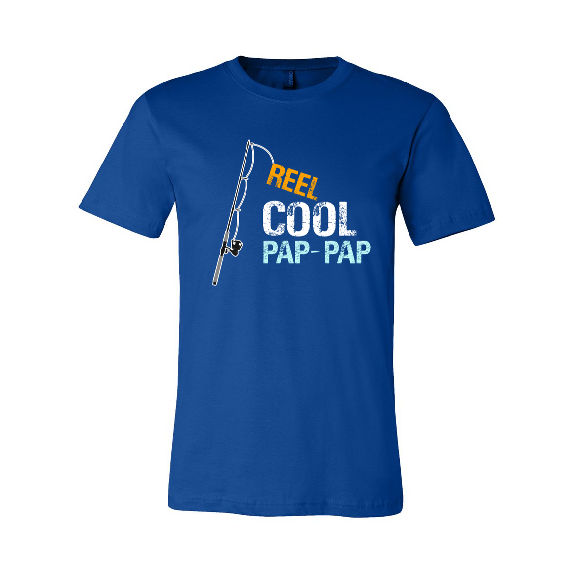 Reel Cool Pap-Pap Grandpa Grandfather Tshirt