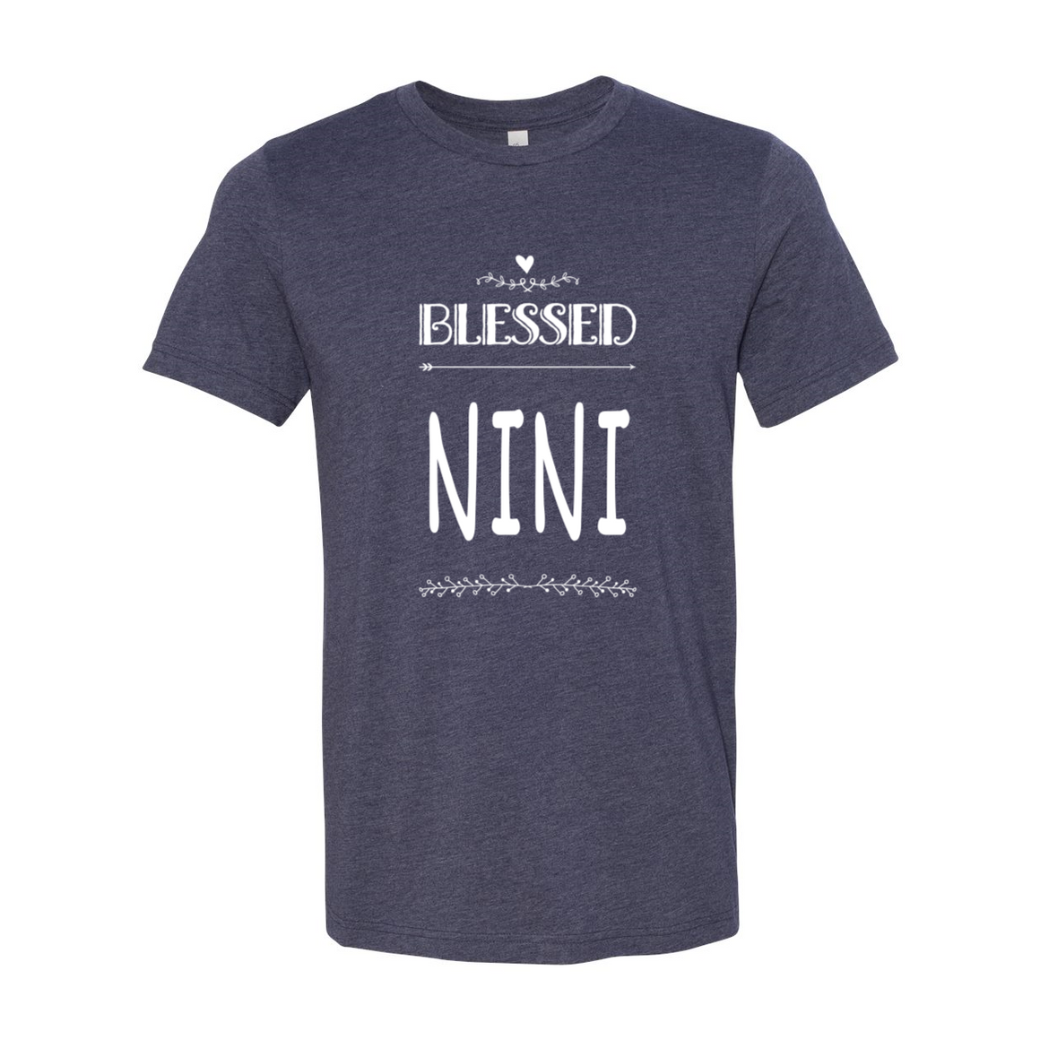 Blessed Nini Grandma Grandmother Tshirt