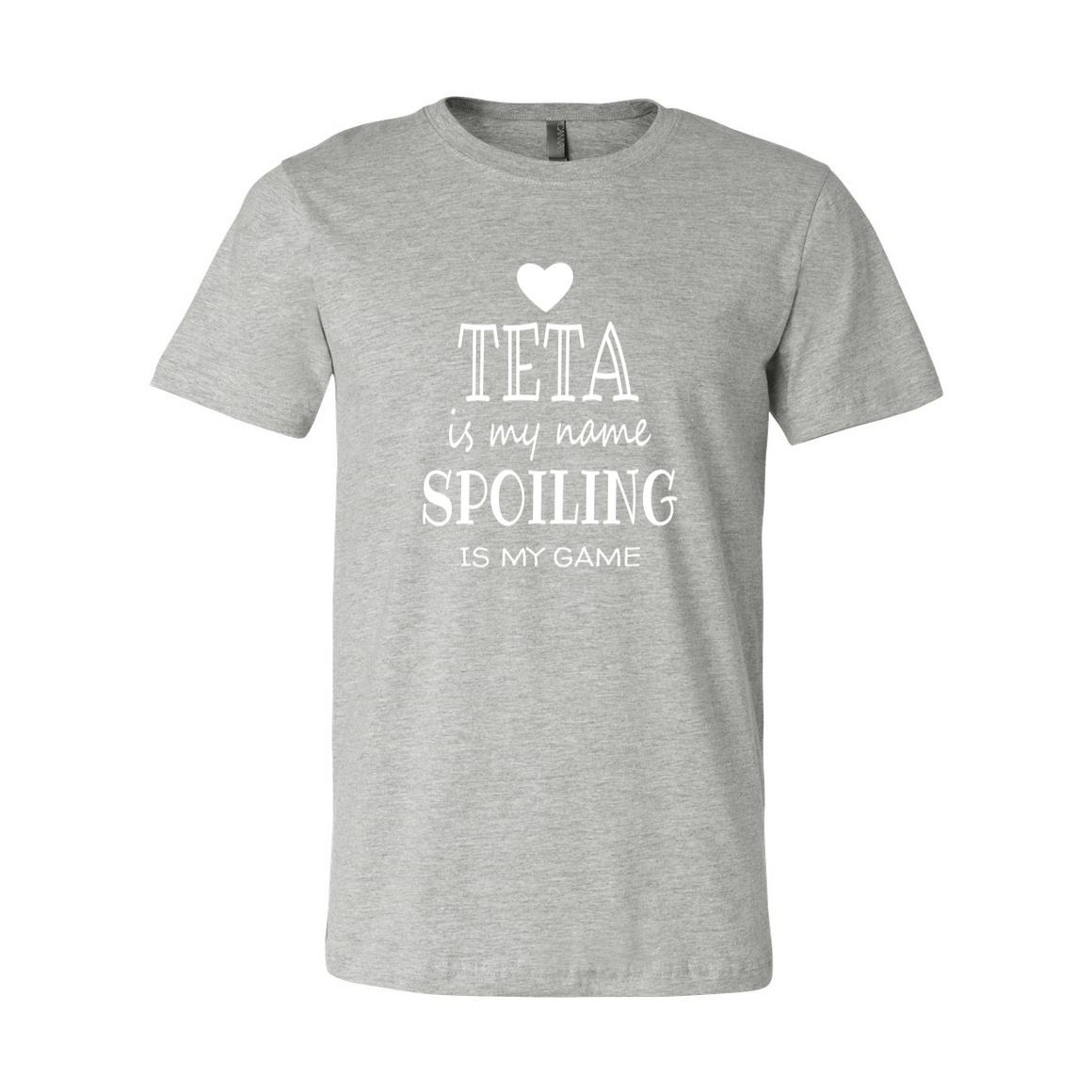 Teta Is My Name Grandma Grandmother Tshirt