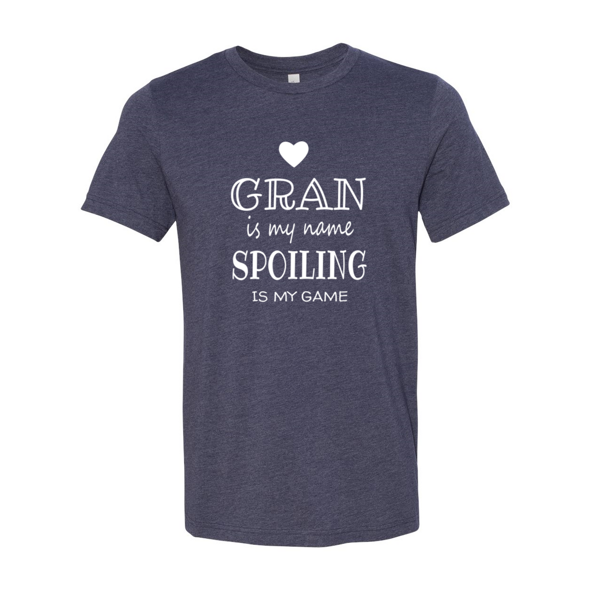 Gran Is My Name Grandma Grandmother Tshirt