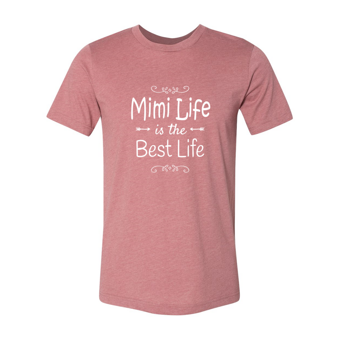 Mimi Life Is The Best Life Grandmother Tshirt