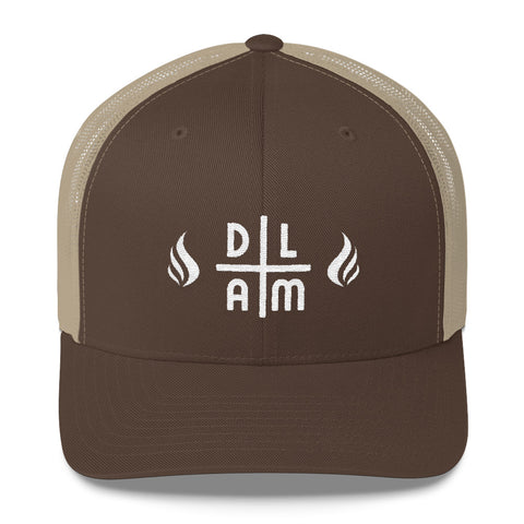 Casquette filet - DLAM flames - DLAM
