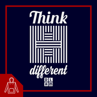 Sweat à capuche chrétien - Think different #DLAM