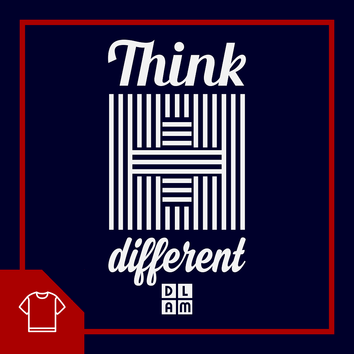 Think different / t-shirt chrétien